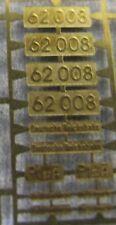 *LO 992* Liliput Ätzschildersatz Betriebs Nr BR 62 008 der DRG