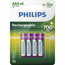 Tv, Video & Audio Pro Aaa Batteries Rechargeable 12x Pre Charged Stay Charged 950ma Nimh New Mrp40