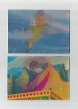 1996 Disney Hunchback of Notre Dame set of 2 3D Motion chase insert cards