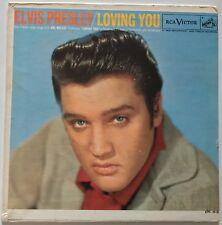 ELVIS PRESLEY-USA ORANGE  LABEL ,LOVING YOU EP