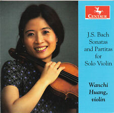 J.S. Bach / Wanchi H - Sonatas & Partitas for Solo Violin [New CD]
