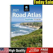 Usa Road Atlas Spiral Bound United States Travel Map Midsize Edition Update 2021