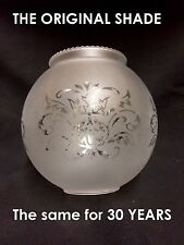 The BOLA frosted clear Clip on replacement glass lamp shade ceiling wall light