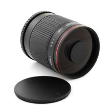 Albinar Tele 500mm f8 Mirror Lens for Micro 4/3 Panasonic DMC GH2 G10 G1 GF1 GH1