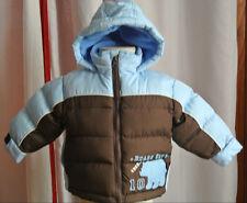 Carters Baby Boy 12 Months Winter Fleece Lined Puffer Jacket