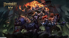 Poster 42x24 cm League Of Legends Skins Pentakill LOL