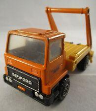 Vintage Matchbox Super Kings Bedford  Hales Skip Truck Commercial Vehicle - 1977