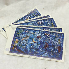 Chagall Window 1967 6 Cent Stamps 35 Sheets All Mint Original Gum United Nations
