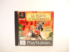 GOLD AND GLORY ROAD TO EL DORADO complete w. box & manual PAL PS1 Playstation 1