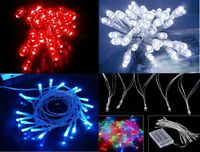 MANY COLOURS 20 LED Fairy Christmas Lights Cool/Warm White,Red Blue Green RGB