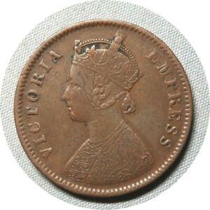 elf India British 1/4 Anna 1882  Victoria