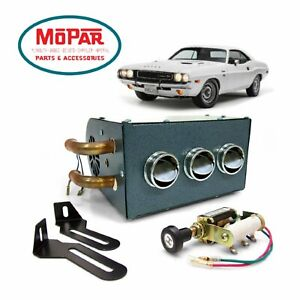 1962-74 Mopar B E Body Compact Under Dash Auxiliary Cab Heater chrysler 426