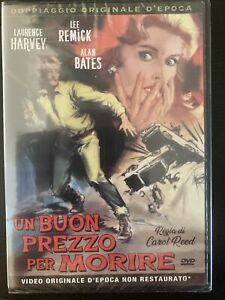 The Running Man 1963 Laurence Harvey / Lee Remick /  Bates R2 rare DVD - new