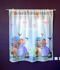 Disney  Voile Net Curtain - SOFIA - 75cm width x 150cm drop