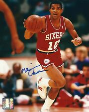 9382da1c630d Signed 8x10 MAURICE CHEEKS Philadelphia 76ers Autographed Photo w COA
