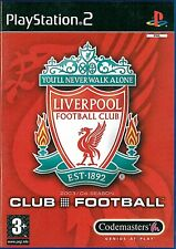 Liverpool FC Club Football Sony Playstation 2 PS2 3+ Soccer Game