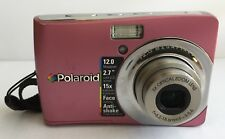 Polaroid i1237 / 12.0 Mp Digital Camera with 3x Optical Zoom /2.7 Lcd Pink color