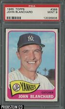 1965 Topps #388 John Blanchard New York Yankees PSA 9 MINT