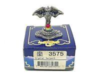 Crystal Serpent #3575 Tudor Mint Myth and Magic Pewter MIB New Old Stock