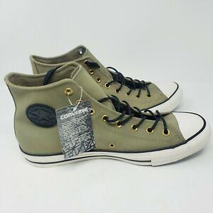 Converse Chuck Taylor All Star Hi Top Sneaker Olive Jute Mens 12 NWT