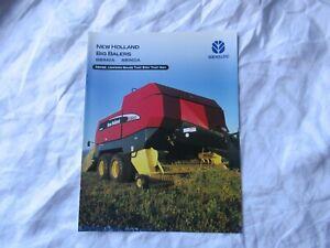 New Holland round baler BB940A BB90A brochure