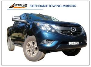 Adventure Towing Aero Style Extendable Mirror for Mazda BT-50 2012 - 07/20