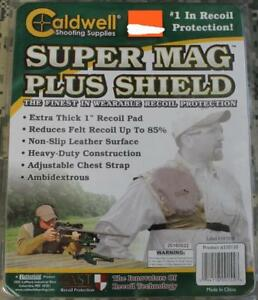 Caldwell PAST Ambidextrous SUPER MAG PLUS SHIELD Recoil Protector Shoulder Pad