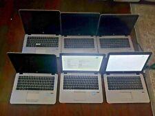 "LOT OF 6 HP EliteBook 820 G3 12.5"" Core i7-6600U @ 2.60GHz 0GB RAM PARTS/REPAIR"