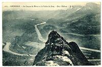 CPA 38 Isère Grenoble Le Casque de Néron et la Vallée du Drac