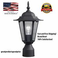 POST POLE LIGHT Outdoor Garden Patio Driveway Yard Lantern Lamp Fixture