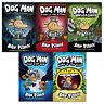 Dog Man series Dav Pilkey Collection 5 Books Pack Set Lord of the Fleas NEW