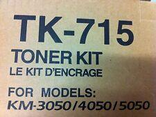 Original kyocera tóner tk-715 tk715 1t02gr0eu0 km 3050 4050 5050 km-3050 a-Ware
