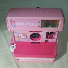 Hello Kitty Polaroid 600 Instant Camera Sanrio Pink Limited USED