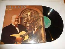 BURL IVES - Ballads with Guitar - UK 14-track Vinyl LP