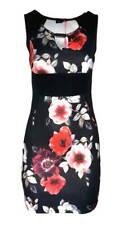 Kleid Spitzen Kleid Melrose rot Allover Spitze Mini Gr 36 38 40 42