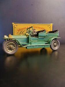Matchbox. 1907 Yesteryear Y-15. Rolls ROYCE SILVER GHOST IN ORIGINAL CRISP C BOX