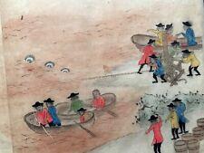Edo Castaway story 1700's Russia Seven seas Drift record Manuscripts Book #16