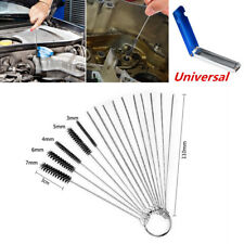 15 PCS Car Motorcycle Carburetor Cleaning Needles Brush Dirt Jet Remove Tools