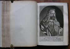 J. J. Brucker 'honneur-temple' 50 mezzo-tinto-portraits de J. J. Haid, compl. 1747