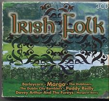 Irish Folk - BOX 3 CD 2000 NEAR MINT CONDITION CUDTODIA VG+ CONDITION