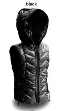 Crazy Owners Down Vest Jacket Set (Black Vest) for 1/6 Muscular Body