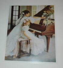 Sandra Kuck - FIRST RECITAL 8x10 open edition OUT OF PRINT! piano teacher lesson