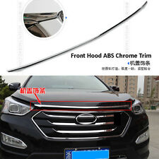 FIT FOR HYUNDAI SANTA FE IX45 FRONT GRILLE HOOD BONNET CHROME TRIM MOLDING BAR