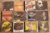 12 CD Lot Alternative, Rock, Indie, Pop, Grunge Nirvana, STP, Alice in Chains