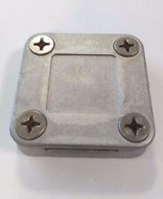 Aluminium Square Clamp for Lightning Protection 25mm x 3mm BSEN62035/BS6651