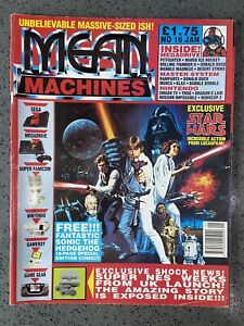 Mean Machines Console Magazine January Issue 16 1992