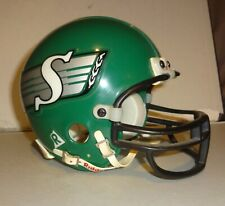 riddell mini helmet 3 5/8 CFL SASKATCHEWAN ROUGHRIDERS