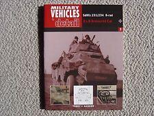 Ian Allan  Military Vehicles in Detail : SdKfz.250 Halftrack (all variants)