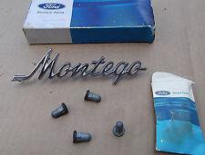 1968 Mercury Montego Quarter Panel Script Emblem ~ NOS ~ C8GY-5425622-A