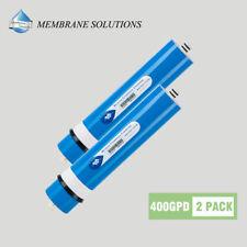 Large flow Apply 400GPD RO Membrane Reverse Osmosis Filter Aquarium Pool - 2 PK